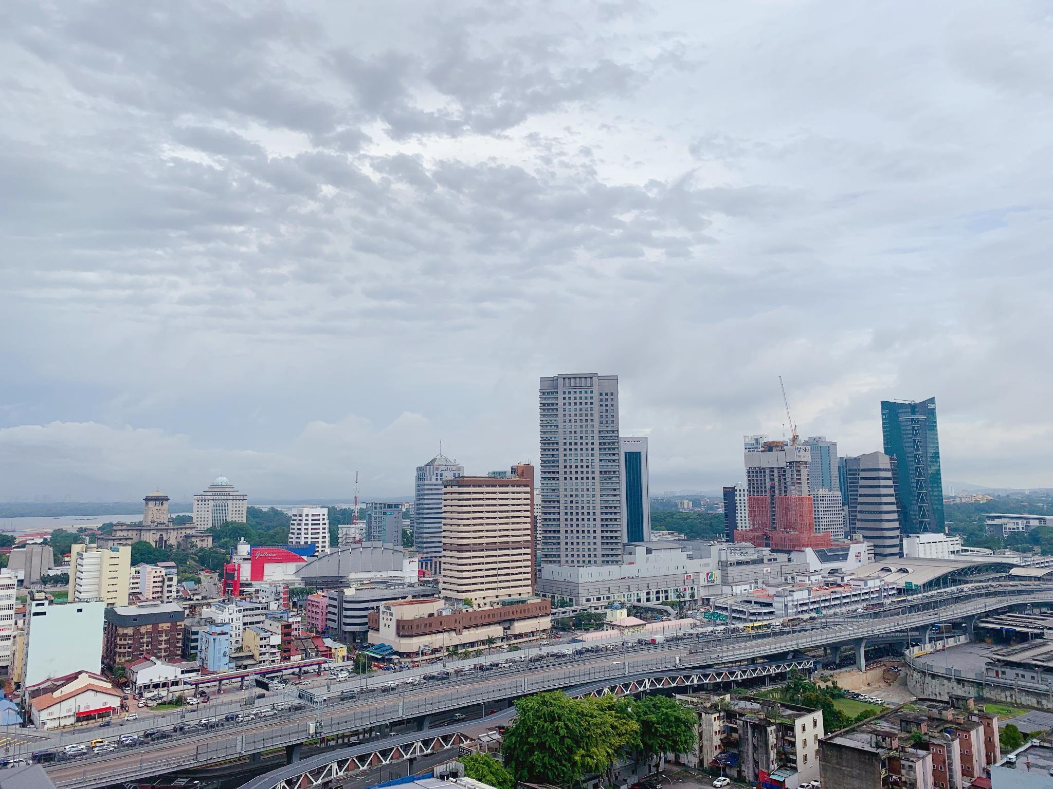 Johor Bahru City Center View @ RandF Princess Cove