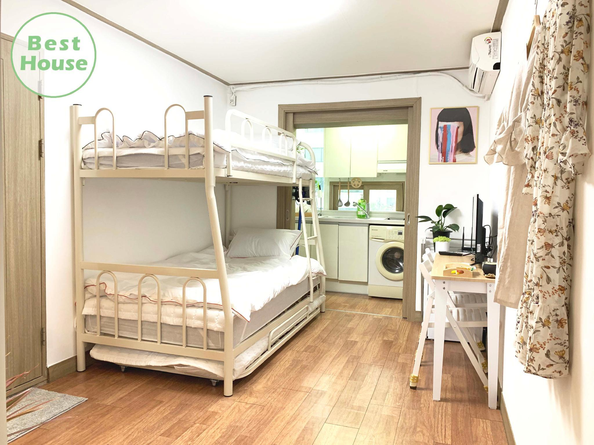 1 Young's Green House 4min Hongdae Station  Arex