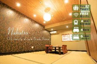 010 JPN villa for 12 near Namba Umeda living area